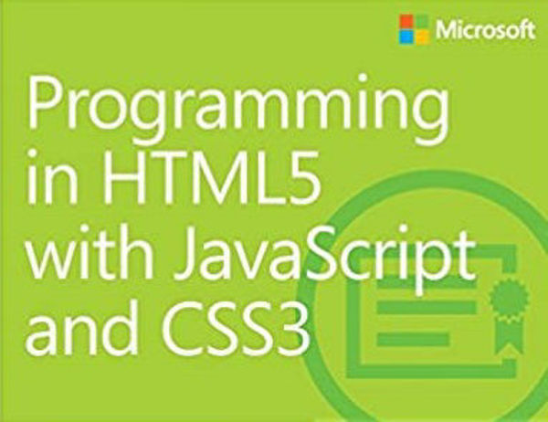 Picture of Microsoft - Programming in HTML5 with JavaScript and CSS3