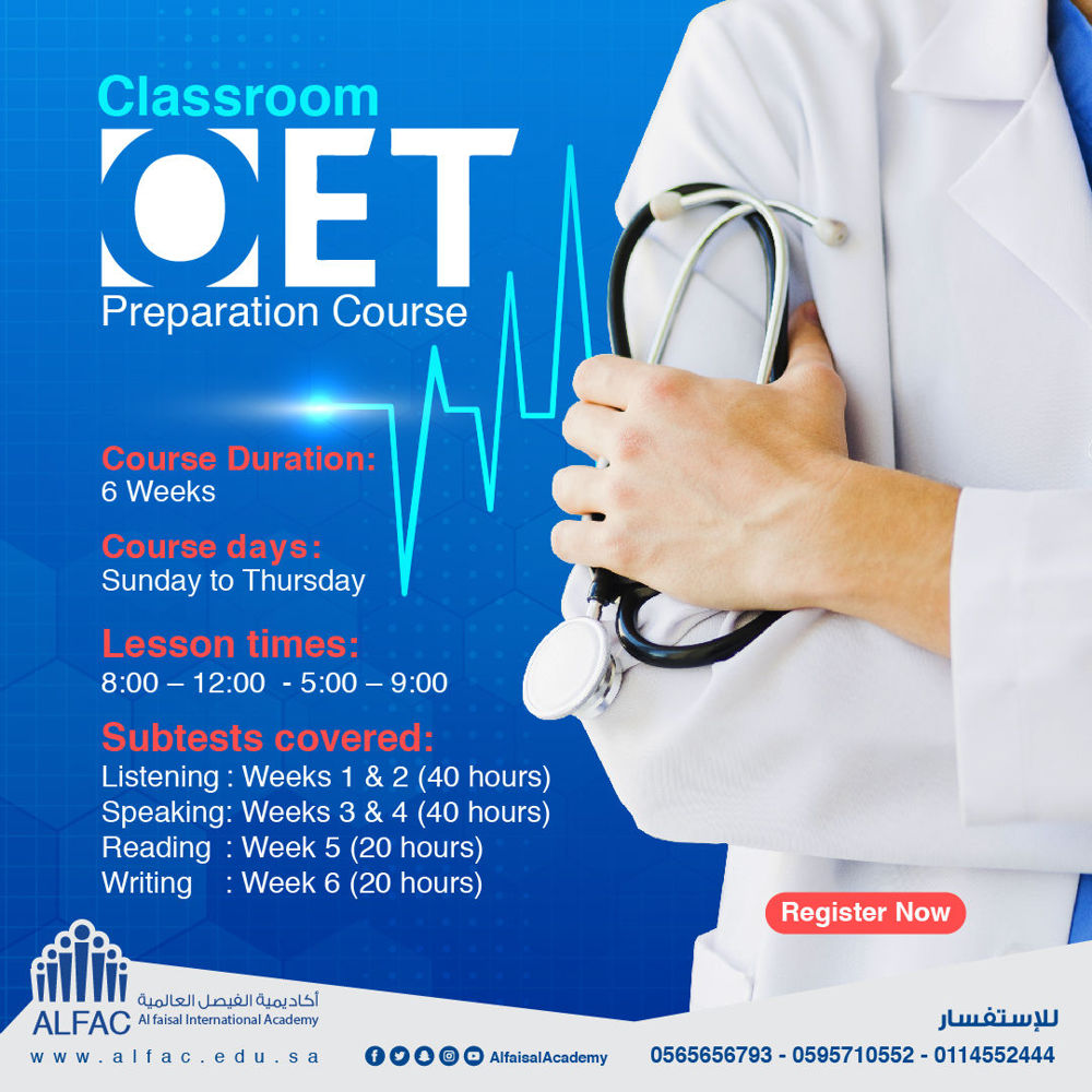 OET pre. Course